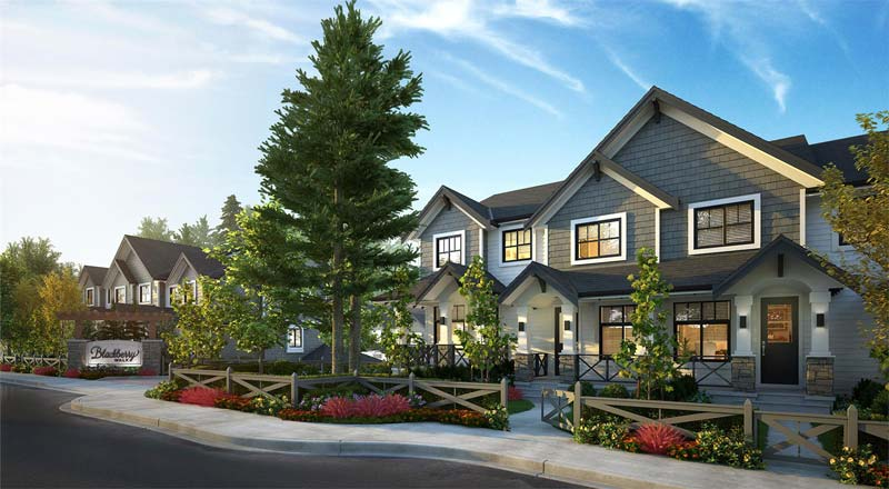 blackberry walk townhomes
